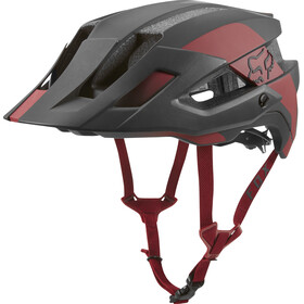Fox Flux Mips Conduit Trail Casco Uomo, cardinal